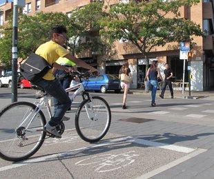 Girona. Carril bici