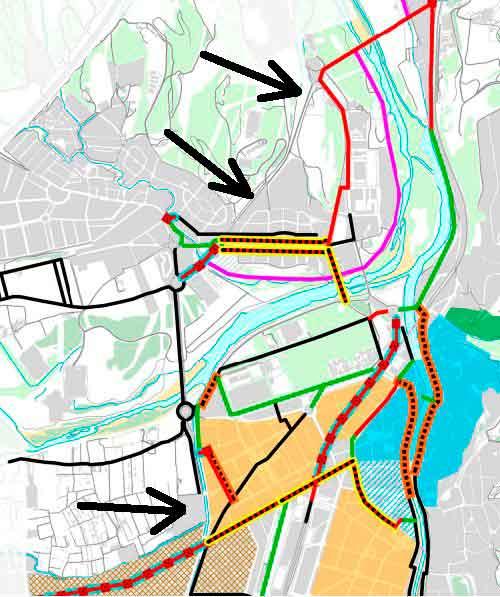 mapa nou carril bici