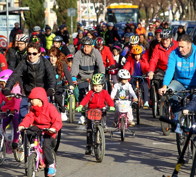 Girona. Bicicletada