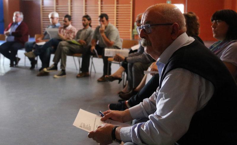 Escola Jacint Verdaguer (carrer Jacint Verdaguer, 72). Reunió entre pares, mares i professors i alcaldes de Sils, Maçanet, Vidreres i Riudarenes per al projecte de carril bici de dins els pobles i que uneixi els quatre municipis.