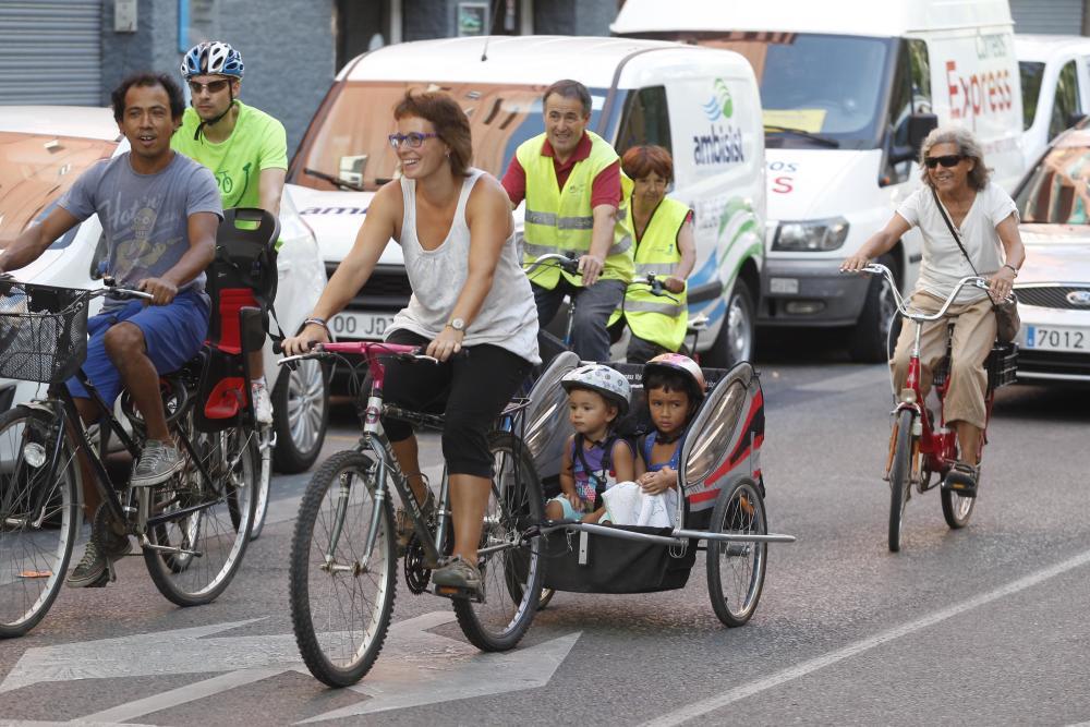 Bicicletada popular pels carrers de Santa Eugènia