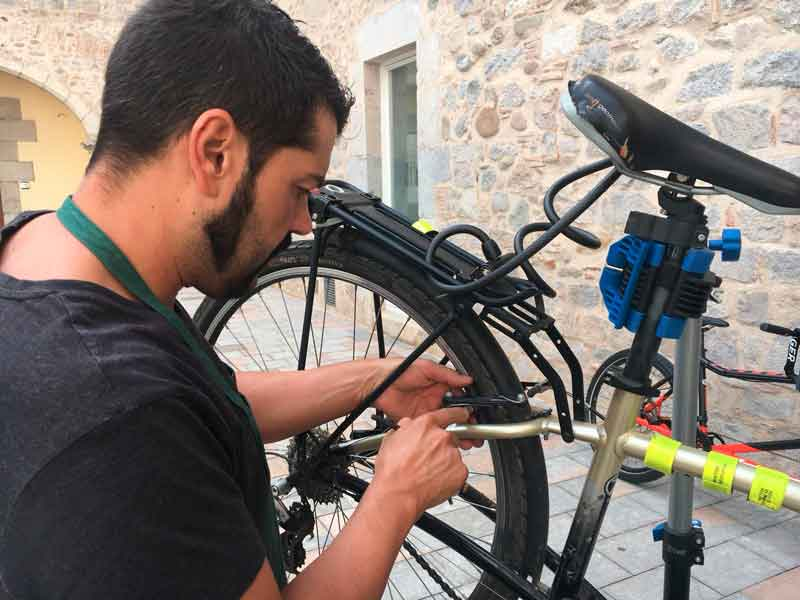 Cursos de Mecànica de la bici 2019