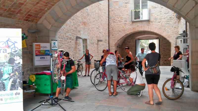 Les Bici-Segures de la setmana de la mobilitat 2018