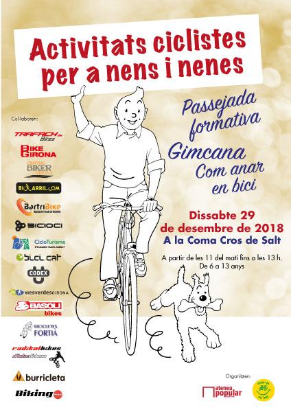 Activitats ciclistes per a nens i nenes
