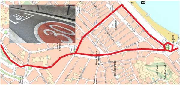 La mobilitat amb bicicleta post Covid-19: Peticions a l'Ajuntament de Blanes