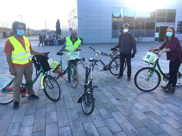 Organitzem una pedalada tècnica per analitzar in situ la mobilitat en bicicleta a Girona